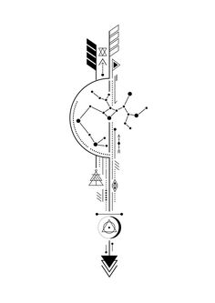 Arrow Tattoo - Sagittarius Arrow Tattoo -Sagittarius Arrow Tattoo - Sagittarius Arrow Tattoo - hoe Amazing Geometric Tattoos For 2020 Geometric Arrow Tattoo, Geometric Tattoo Design, Geometric Tattoo Meaning, Meaning Of Arrow Tattoo, Geometric Sleeve, Compass Tattoo Design, Arrow Tattoo Design, Arrow Compass Tattoo, Arrow Design