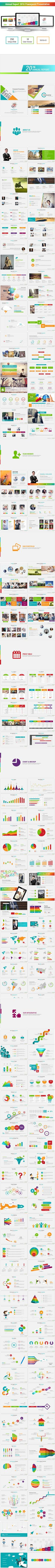 Annual Report 2016 Powerpoint Presentation Templates