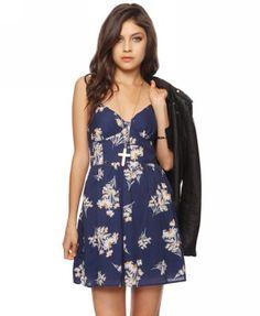 """""""Ditsy Sunflower Dress - Forever 21"""" $15.80"""