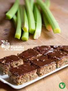 Kuchařka ze Svatojánu: REBARBOROVÝ KOLÁČ S OŘECHY Rhubarb Recipes, Sweet Tooth, Baking, Cake, Desserts, Food, Tailgate Desserts, Deserts, Bakken