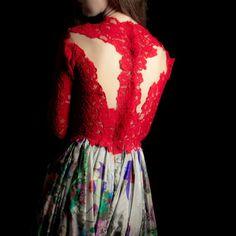 Ronald Abdala haute couture fall winter 2013 dress