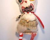 Junker Jane's monster rag dolls