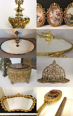 #Vanity Paris Mornings in my Boudoir by Vintage Love Antiques on Etsy--Pinned with TreasuryPin.com
