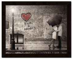 I don't know why I love umbrellas and romance so much!