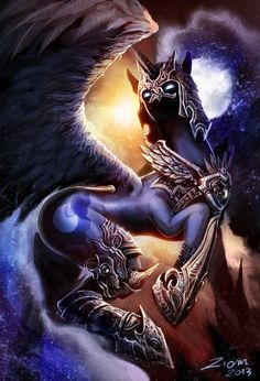 Nightmare Moon by Ziom05.deviantart.com on @deviantART