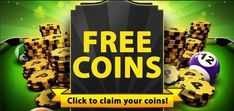 8 Ball Pool free coins links is available in this post.You will get 8 Ball Pool free coins links on daily base.These all links are Working. 8 Pool Coins, Coin Tricks, Free Avatars, Pool Hacks, Free Rewards, Pool Cues, Free Cash, Played Yourself, New Tricks