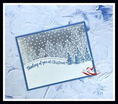 Blue Christmas, Christmas Tag, Christmas Crafts, Homemade Christmas Cards, Stampin Up Christmas, Advent, Snowflake Cards, Snowflakes, Cool Birthday Cards