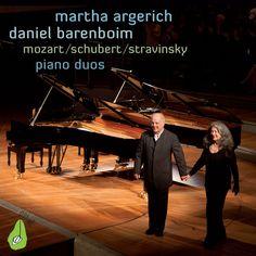 Mozart, Schubert & Stravinsky: Piano Duos: Martha Argerich& Danile Barenboim