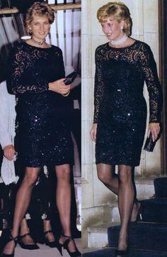 Princess Diana and beauty. Princess Diana Dresses, Princess Diana Rare, Princess Diana Photos, Princess Diana Fashion, Royal Princess, Blue Ball Gowns, Estilo Real, Lady Diana Spencer, Estilo Fashion