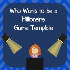 Family feud powerpoint game template school pinterest for Who want to be a millionaire game template