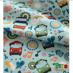 Check out this item in my Etsy shop https://www.etsy.com/listing/449892892/the-little-bus-tayo-character-fabric