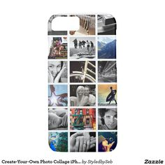 Create-Your-Own Photo Collage iPhone 7 Case