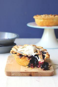 Two Little Blueberry Pies: @sugarhitsarah