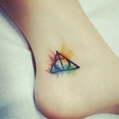 Minimalist harry potter tattoos that are pure magic 1