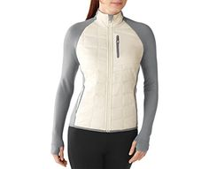 Smartwool Womens PhD SmartLoft Divide Full Zip Natural Large ** Check out this great product. This is an Amazon Affiliate links.