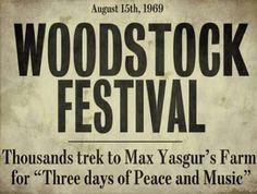 ☮ American Hippie ☮ Woodstock news