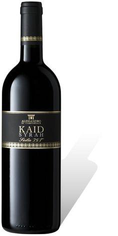 Kaid, Syrah IGT Sicillia, a solar-heart wine   Alessandro di Camporeale vineyards #westsicilywine
