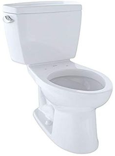 rated- TOTO Drake Ada Toilet with Elongated Bowl, Cotton White