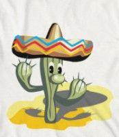 Cinco De Mayo - Celebrate Cinco de mayo with this cute cactus with a sombrero
