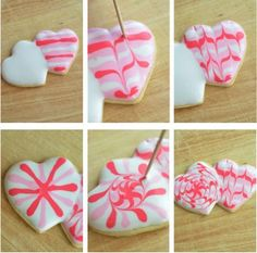 Heart Cookie Swirl by Pennies on a Platter, via Flickr