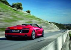 Nouvelle Audi R8 Spyder