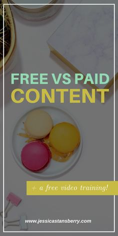 DO YOU HAVE A HARD TIME DECIDING WHAT CONTENT SHOULD BE FREE AND WHAT SHOULD BE PAID?!? IN THIS VIDEO IM EXPLAINING MY PROCESS FOR DECIDING ON FREE VS PAID CONTENT.