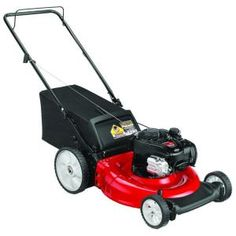 Yard Machines 21 in. Push Gas Walk-Behind Lawn Mower-11A-B13M729 at The Home Depot