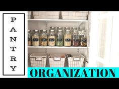TIPS | Organizing a Pantry - YouTube | At Home with Nikki