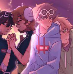Drarry Fanart, Mma, Unchained Melody, Dream Anime, Anime Undertale, Rawr Xd, Pretty Drawings, Minecraft Fan Art, My Dream Team
