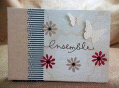 álbum y libro de firmas scrapbooking para bodas  papel scrapbook  cartón,adornos,tintas  sellos scrapbooking,cartonnage