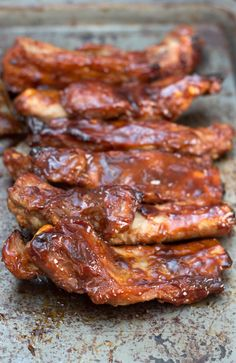 Baked or Barbecued Sticky Glazed RibsReally nice recipes. Every hour.Show me what you cooked!