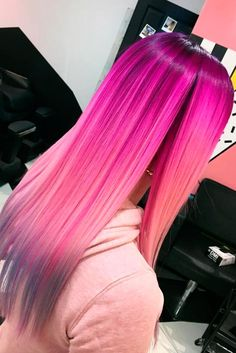 Magenta hair color is perfect for daring ladies who are not scared of experimenting with the way they look. There are big variety of magenta shades. Click to see our ideas.