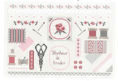The embroiderer tray, grid and new in collaboration with workshops passion (Sylviane). - Maryse The grids