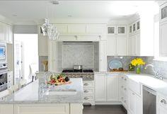 Crisp White Kitchen. #Crisp #White #Kitchen