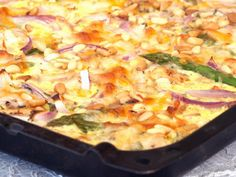 Mat til mange i en langpanne Meatball Recipes, Chicken Recipes, Norwegian Food, Norwegian Recipes, Paella, Stew, Macaroni And Cheese, Cravings, Nom Nom