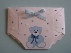 Baby Shower & Thank You Card diaper,  I would just use it If you knew someone was havign a baby, o for a first birthday.