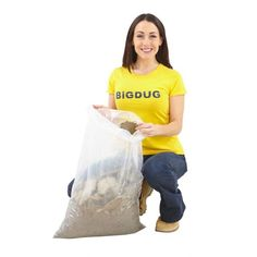 Heavy Duty Rubble Sacks (Pack Of 50) Recycling Storage, Shed Storage, Storage Boxes, Storage Ideas, Outside Storage, Sacks, Storage Solutions, 50th, Packing