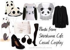 Panda from Shirokuma Cafe Casual Cosplay