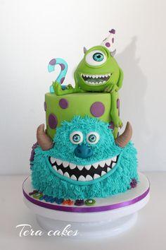 monsters university birthday cake Disney Themed Cakes Monsters