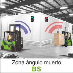 El sistema de zonas sin visibilidad o ángulo muerto (BS) es una solución que indica, mediante semáforos, la preferencia de paso a los conductores y peatones.