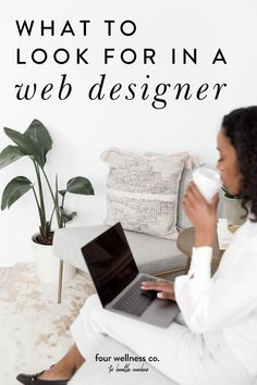 What to Look for In A Website Designer | Website Design | Want to start marketing your online business but need someone to build your website? Click for our tips small business and entrepreneur tips for health and wellness professionals on how to choose a professional website designer to build your health coaching website. | Squarespace Website Design | Four Wellness Co. #webdesigner #entrepreneurtips #smallbusinesstips #squarespacewebsite #webdesign Internship Fashion, Coach Website, Workplace Wellness, Dream Career, Portfolio Web Design, Professional Website, Stress Management, Health Coach, How To Stay Healthy