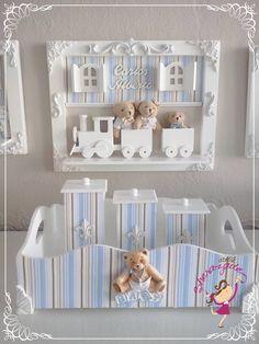 5439edec3bd06 63 melhores imagens de Kit Higiene Bebês   Decoupage, Do it yourself ...
