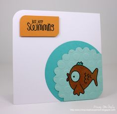 I just adore the way she used her stamps.. The Alley Way Stamps TAWS Papercrafting Cards Cute Fun Whimsical