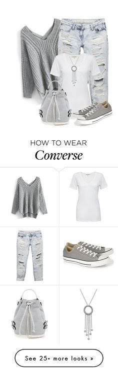 """Untitled #897"" by soleuza on Polyvore featuring Chicwish, Wet Seal, Cotton Citizen, Converse, Rebecca Minkoff and London Road"