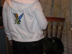 Jacket with Tinkerbell embroidery design - Cartoon embroidery - Gallery - Machine embroidery forum