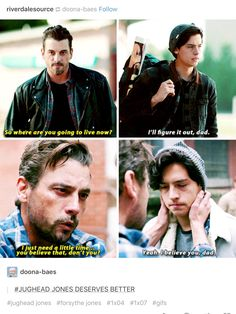 Jughead deserves so much better than that for a father.