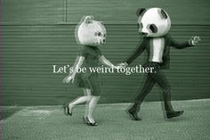 they say my music is weird(?!) so let's be weird together :)