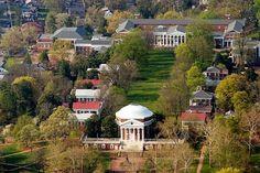 #1. University of Virginia. Charlottesville, VA. -- Playboy's top ten party schools list.