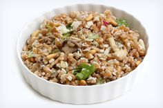 Mushroom Farro Salad {Via She Knows}