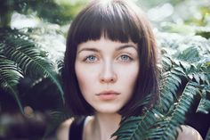 Portrait series of Clara Eggers from danish model agency Modelbooking. Shot in botanical garden in Copenhagen, Denmark.  Model: Clara Eggers // Modelbooking Photograph and retouch: Sofie Kirkeby // http://www.sofkirkephotography.com/